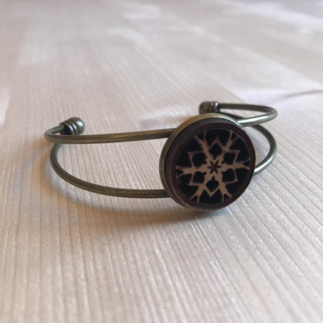 bracelet flocon 2br