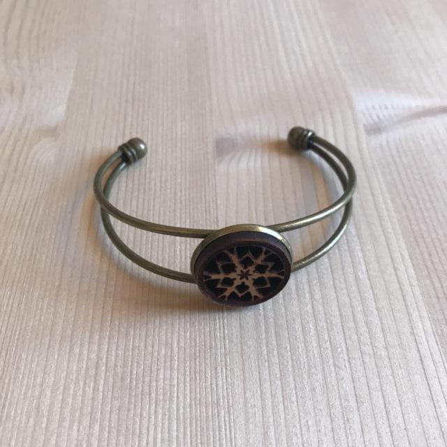 bracelet flocon 4br