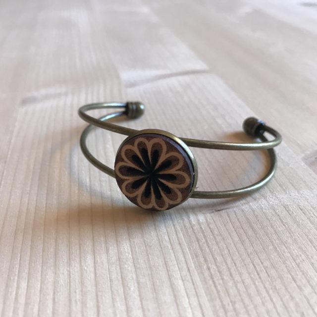bracelet marguerite 3br